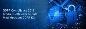GDPR Privatlivspolitikken som vi indførte i 2017 er opdateret