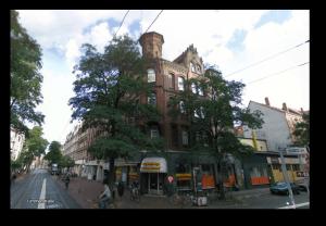 Fuldt udlejet ejendom i Hannover Tyskland der tidligere husede CinemaxX stifteren